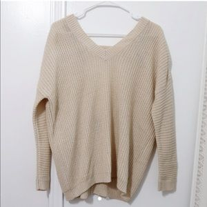 Forever21 Beige Sweater